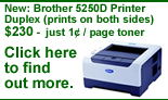 Printing the Ray's Arithmetic books has never been easier and less expensive.  We recommend you check out this new DUPLEX laser printer from Brother.